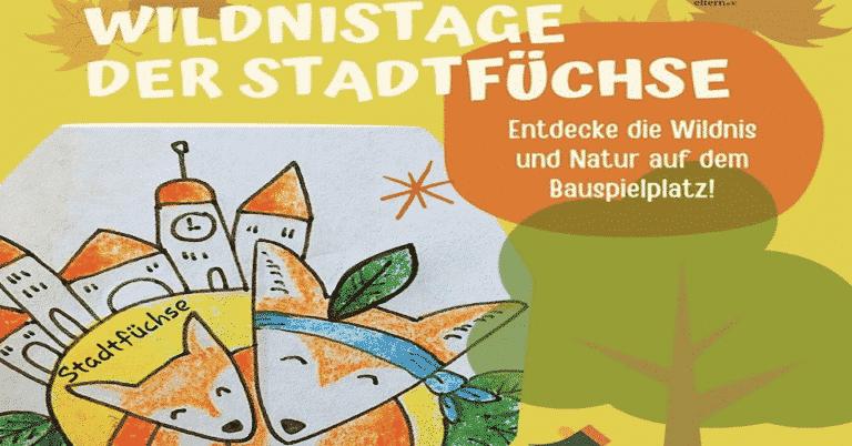 Stadtfüchse – Wildnistage auf dem Bauspielplatz