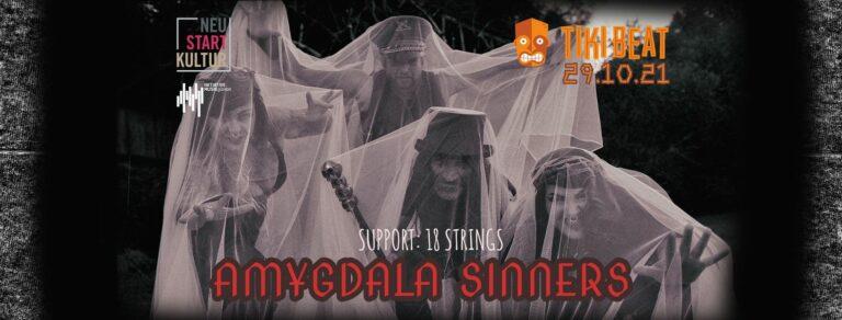 Amygdala Sinners (Support: 18 Strings)